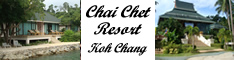 Chai Chet Resort, Koh Chang, Thailand