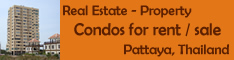 Real Estate, Pattaya, Thailand - Rooms and Condos for rent or sale